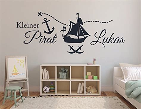 wandtattoo kinderzimmer piraten wandtattoo pirat auf piratenschiff f 252 rs kinderzimmer