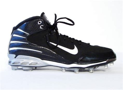 black football shoes nike zoom assassin black dri fit cleats football shoes