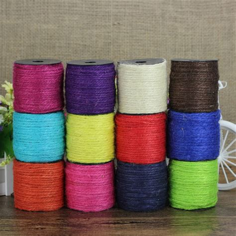 buy wholesale colored jute twine from china colored