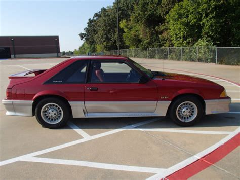 mustang gt 1989 1989 mustang gt 25th anniversary edition for sale in