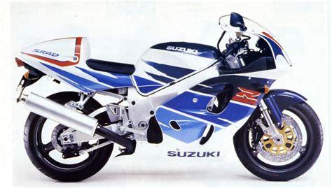 1996 Suzuki Gsxr 750 Suzuki Gsx R 750 Srad Specs 1996 1997 Autoevolution