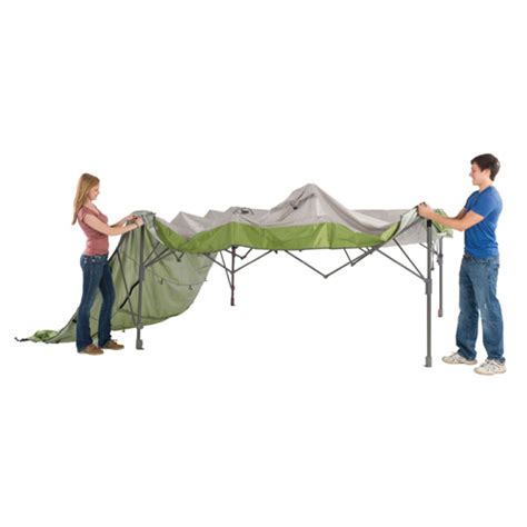 coleman swing wall canopy coleman 2000010949 instant tent 10 x 10 canopy with