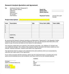 research analysis template quotation template 44 documents in pdf word excel