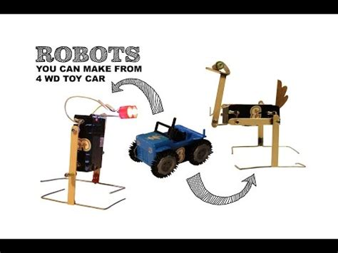 membuat robot berjalan agan ini asli orang indonesia yang membuat robot rumahan