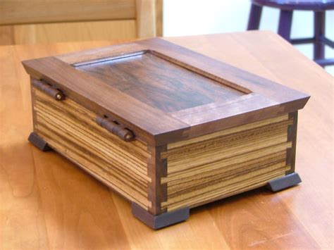 zebrawood jewelry box  dickvn  lumberjockscom