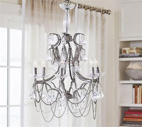 serena chandelier serena necklace chandelier pottery barn