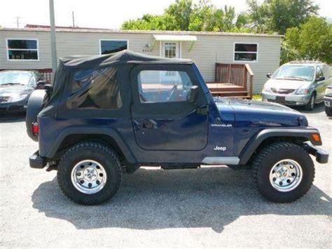 1997 Jeep Wrangler Models Buy Used 1997 Jeep Wrangler Se In 8532 Us Hwy 19 Port