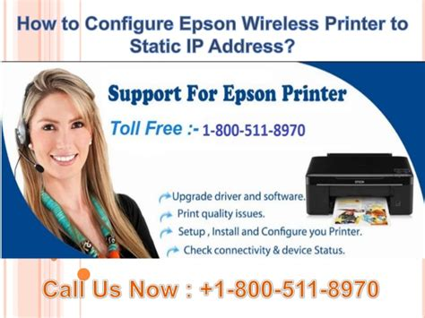how to configure a static ip address in red hat centos 1800 511 8970 how to configure epson wireless printer to