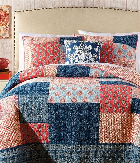 Patchwork Grace - grace patchwork cotton quilt dillards