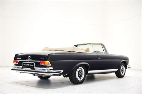 classic mercedes brabus classic mercedes benz 280 se 3 5 cabriolet w111
