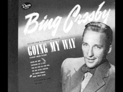 swinging on a star bing crosby lyrics swinging on a star mashpedia free video encyclopedia