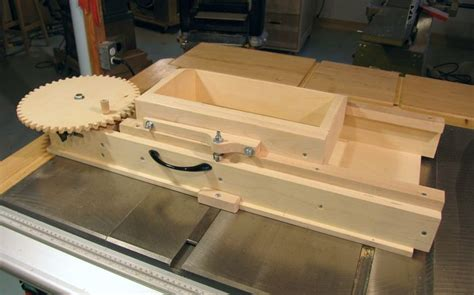 woodworking jigs advance box joint jig used to be for sale