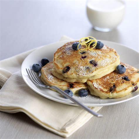 blueberry pancake recipe lemon ricotta blueberry pancakes driscoll s