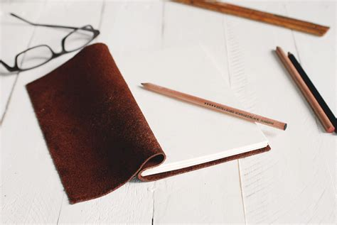 sketch book with leather cover him check out these 50 diy gifts for