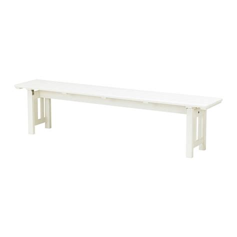 white bench ikea 196 ngs 214 bench outdoor ikea