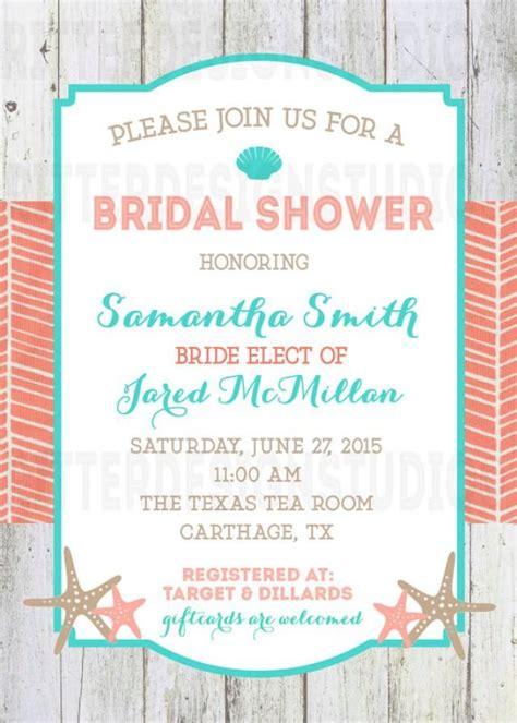 free printable nautical bridal shower invitations beach nautical bridal shower invitation printable