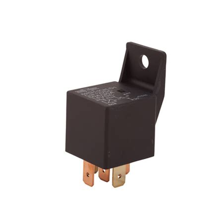 Relay 5 Volt Dc 5 pin relays with mounting bracket 12v 24v dc