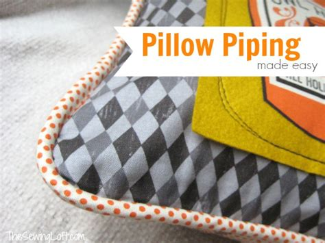 install pillow piping from the sewing loft national