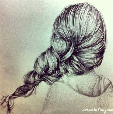 Sketches Hair by Drawings Of Amazing Hair Styles Xcitefun Net