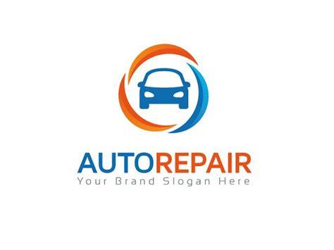 auto repair logo template logo templates on creative market