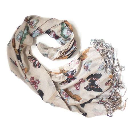 Scarf Printing 3037 butterfly print scarf from the source