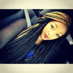 two color box braids two toned senegalese twist search braids