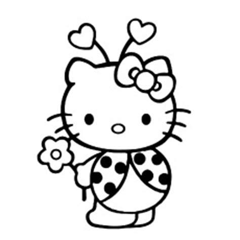 Hello Kitty Ladybug Coloring Pages | top 75 free printable hello ღ ღ kitty kitty coloring