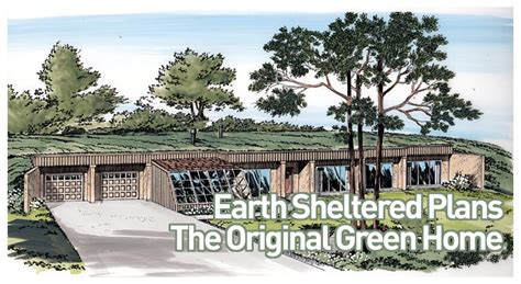earth bermed home designs familyhomeplans com earth sheltered home plans