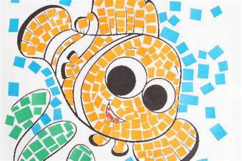 Disegni Per Mosaico colorare disegni per bambini la tecnica mosaico