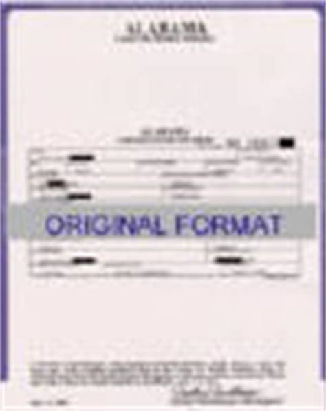 Alabama Birth Records Birth Certificates Certificates Marriage Records Divorce Records And