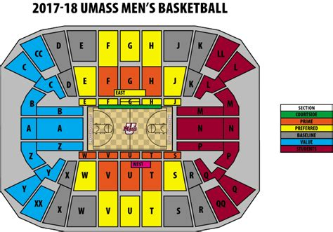 mullins center seating chart seating charts mullins center