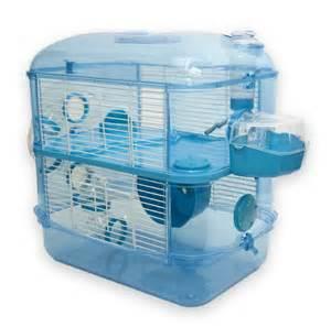 Hamster Hutch Fantazia Blue Hamster Cage 2 Storey Fantasia Package