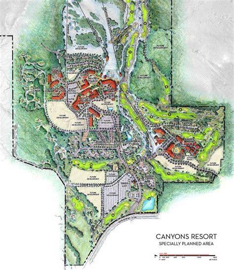 theme park zoning the canyons resort master plan park city ut fairway