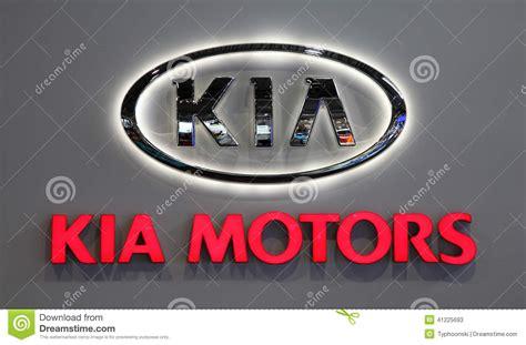 Kia Motor Company Kia Motors Company Logo Editorial Stock Photo Image