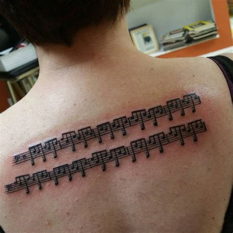sheet music tattoo 22 designs ideas design trends premium
