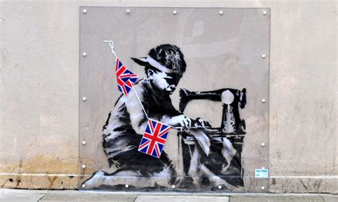 Banksy Wall Mural banksy slave labour mural row re erupts over new sale in