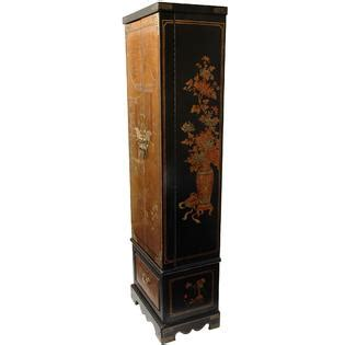 gold jewelry armoire oriental furniture gold leaf floor jewelry armoire home