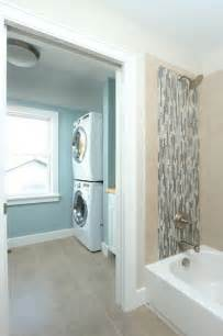 bathroom with laundry room ideas bath and laundry traditional laundry room