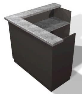 L Shaped Salon Reception Desk Mission Reception Desk 60 Design X Mfg Salon Equipment Salon Furniture Pedicure Spa