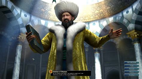 civ 5 ottomans civilization v ost suleiman peace theme ceddin deden