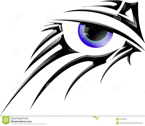 tattoo eye vector vector eye stock vector image of used illustration