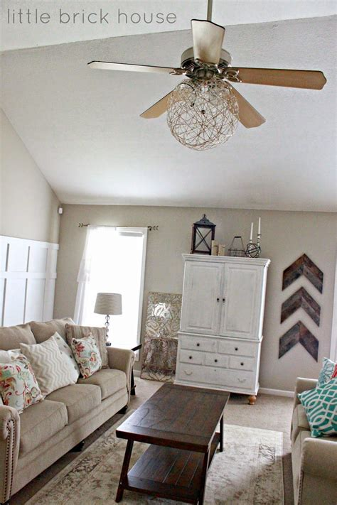 room ceiling fans brick house ceiling fan makeover diy projects house ceiling ceiling