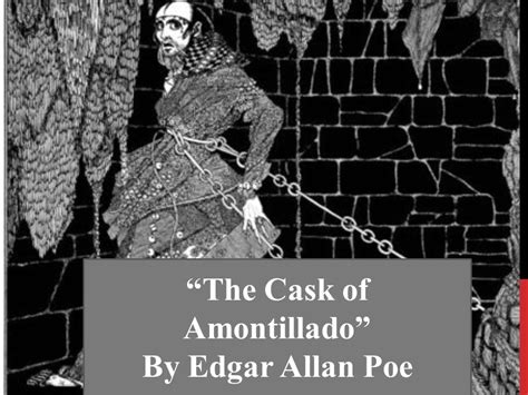 themes in edgar allan poe s stories the cask of amontillado ppt video online download