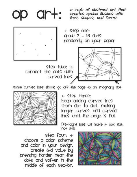 printable art sub plans op art line design emergency sub plan art resources and
