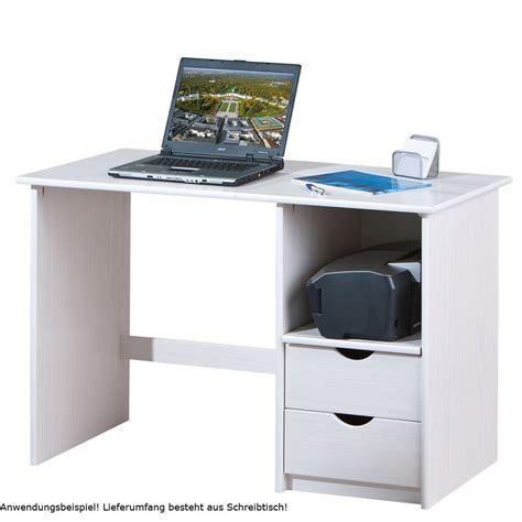 schreibtisch für pc und drucker computertisch arbeitszimmer schreibtisch wei 223 kiefer