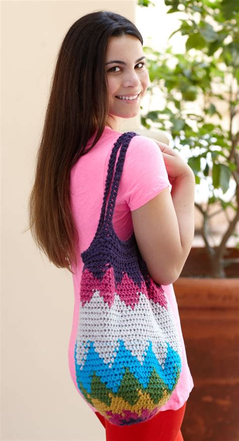 Vanna Series Purple 174 best in the bag images on crochet bags