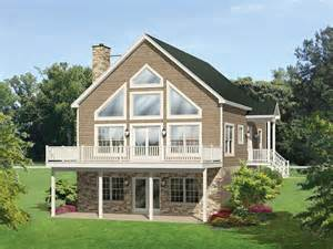 a frame house plans eplans a frame house plan roomy vacation cottage 1691
