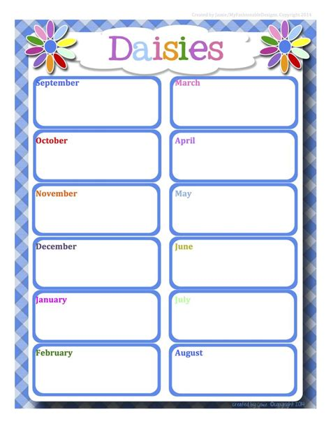 1244 best free printable daily weekly monthly