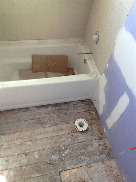 how to install shower floor hardie board haus2home