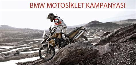 bmw motosiklet kampanyasi